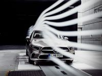 2018 Mercedes-Benz A-Class aerodynamic tests