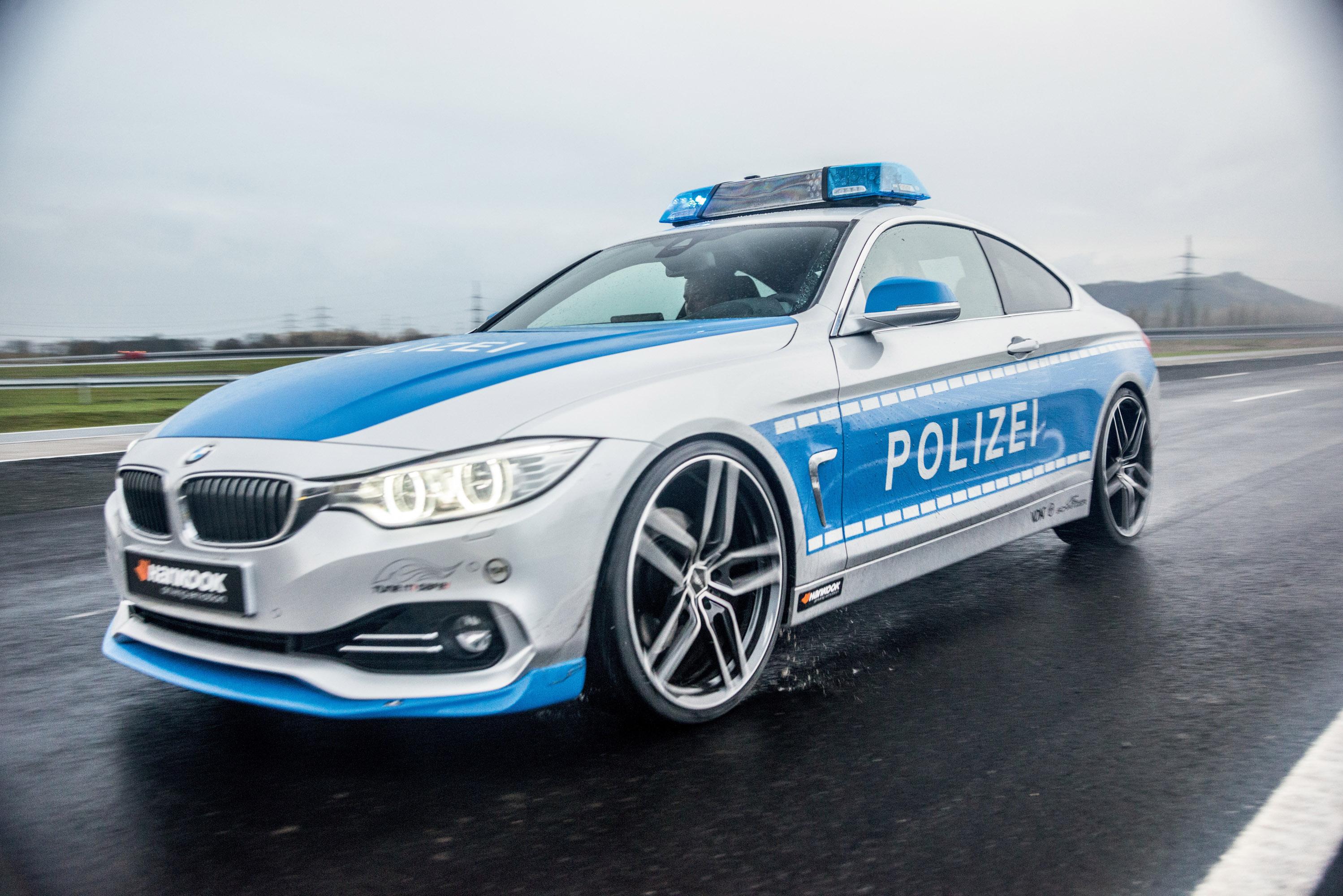 АС Шнитцер ACS4 БМВ купе 2.8 в концепции полицейских автомобилей - фотография №1