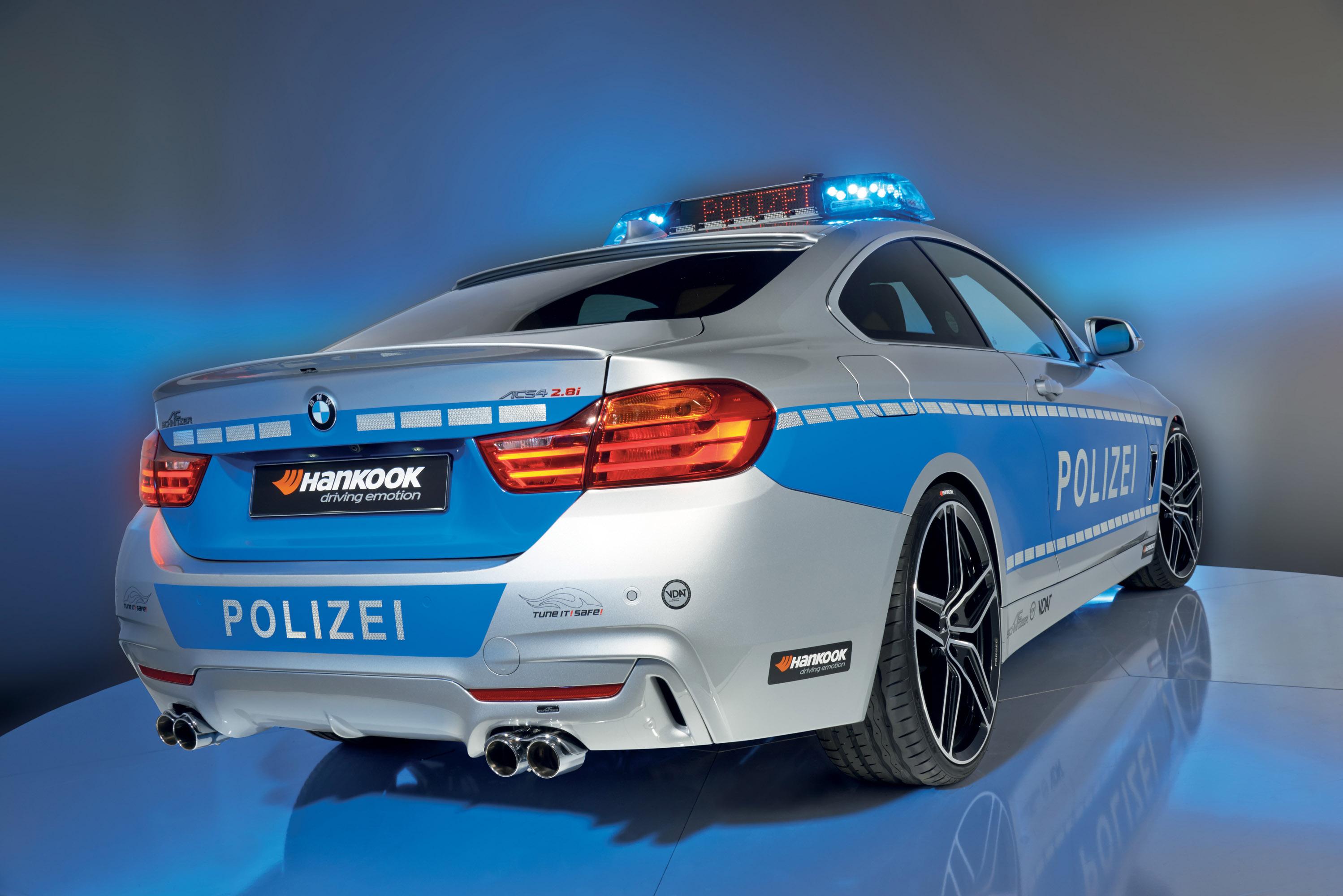 АС Шнитцер ACS4 БМВ купе 2.8 в концепции полицейских автомобилей - фотография №3