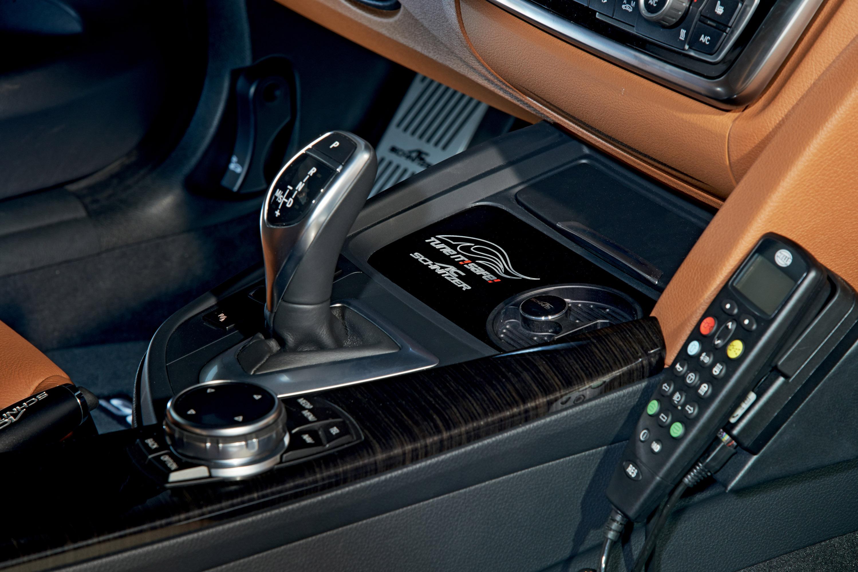 АС Шнитцер ACS4 БМВ купе 2.8 в концепции полицейских автомобилей - фотография №8