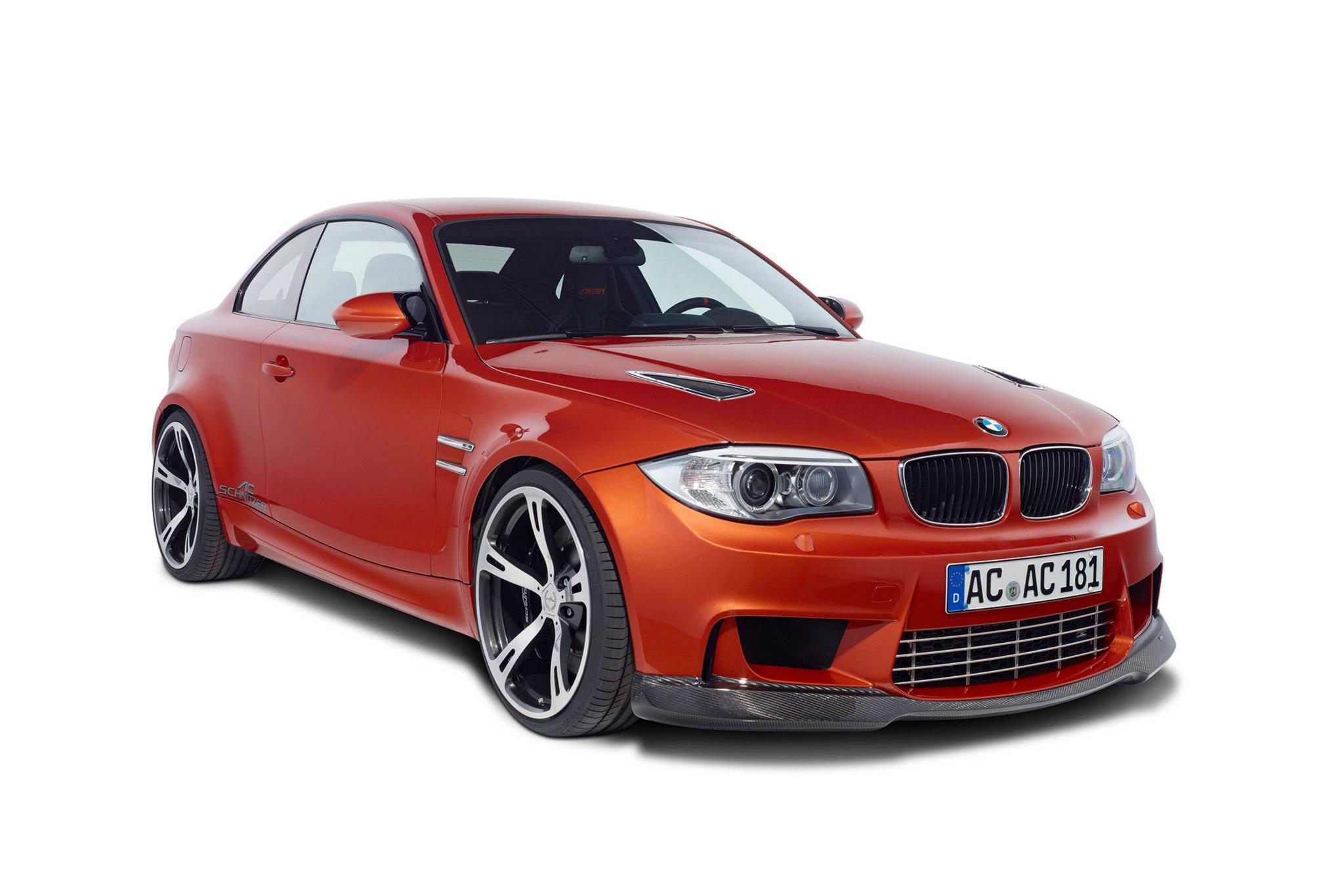 AC Schnitzer BMW 1-series M Coupe представила - фотография №4