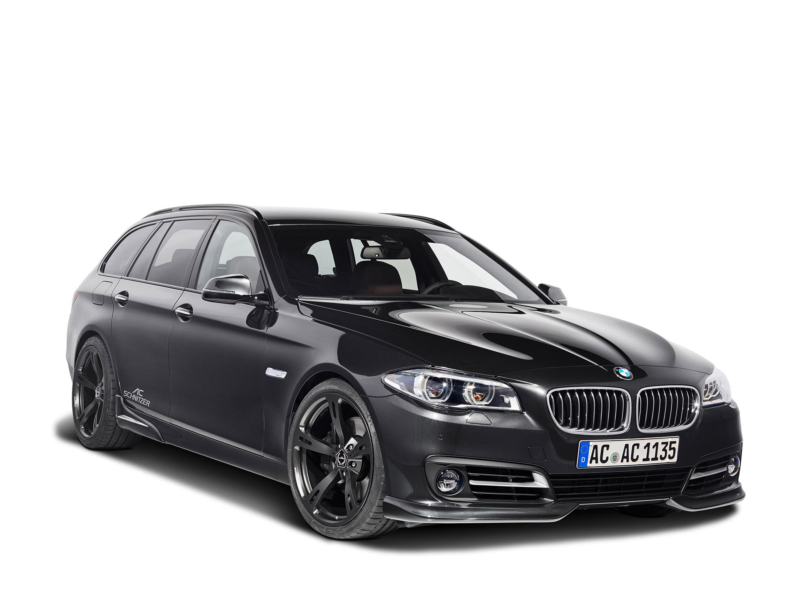 АС Шнитцер BMW 5 серии туринг ЛКИ Эссене дебютирует на мотор-шоу  - фотография №3