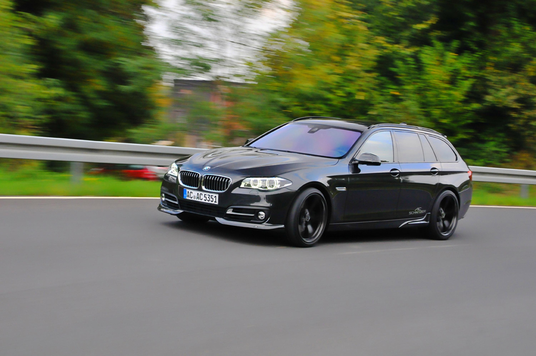 АС Шнитцер BMW 5 серии туринг ЛКИ Эссене дебютирует на мотор-шоу  - фотография №5