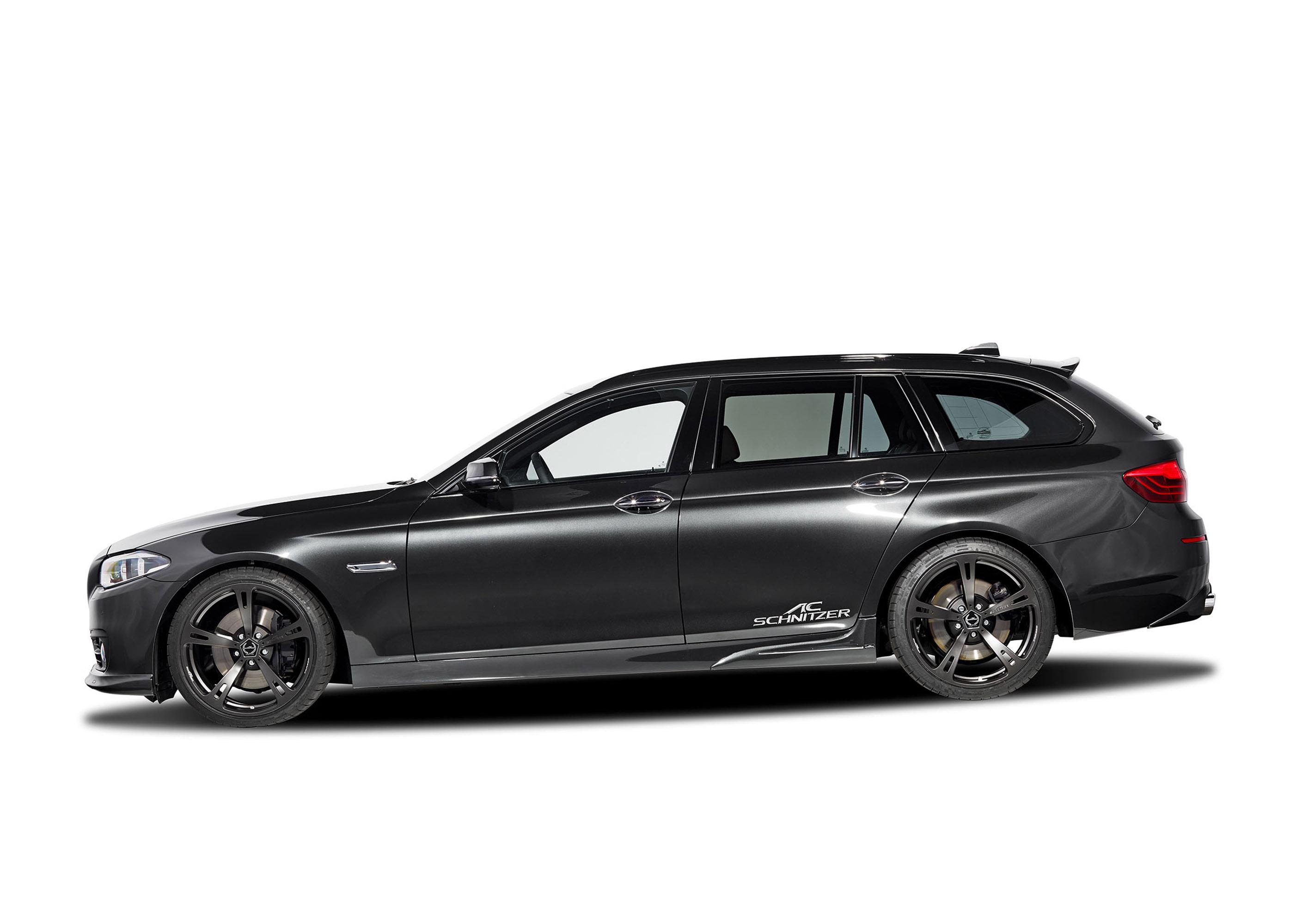 АС Шнитцер BMW 5 серии туринг ЛКИ Эссене дебютирует на мотор-шоу  - фотография №9