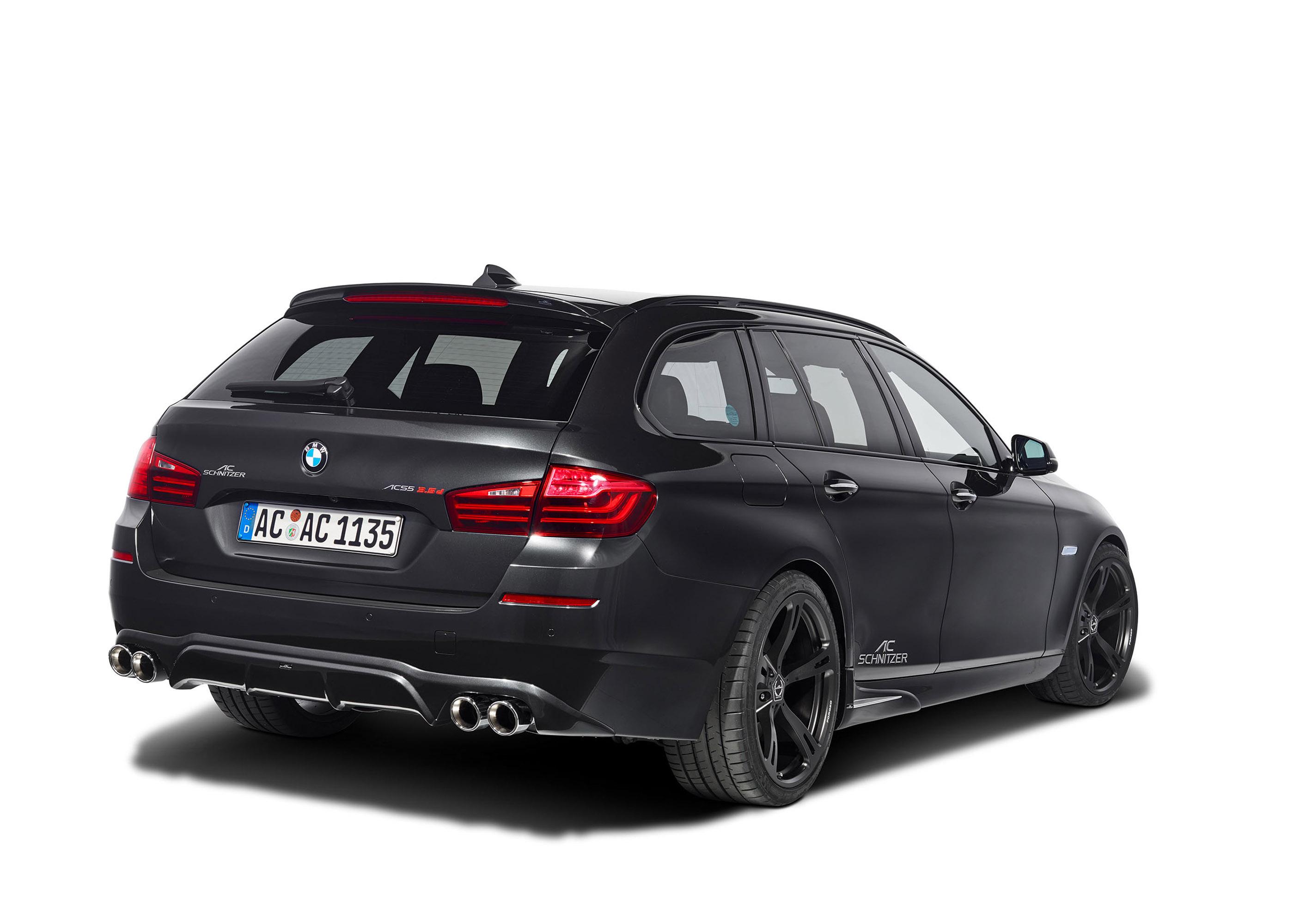 АС Шнитцер BMW 5 серии туринг ЛКИ Эссене дебютирует на мотор-шоу  - фотография №11