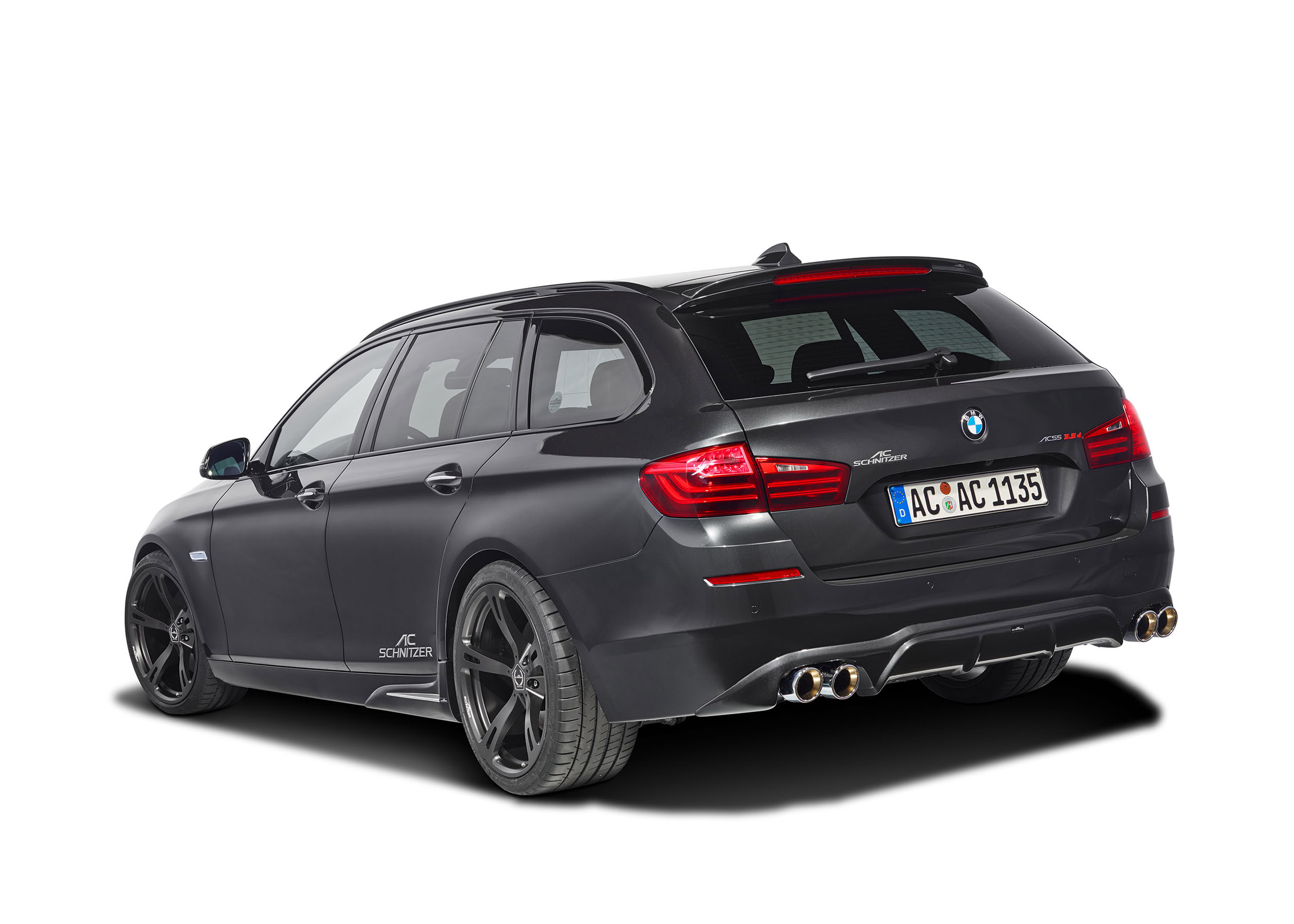 АС Шнитцер BMW 5 серии туринг ЛКИ Эссене дебютирует на мотор-шоу  - фотография №12