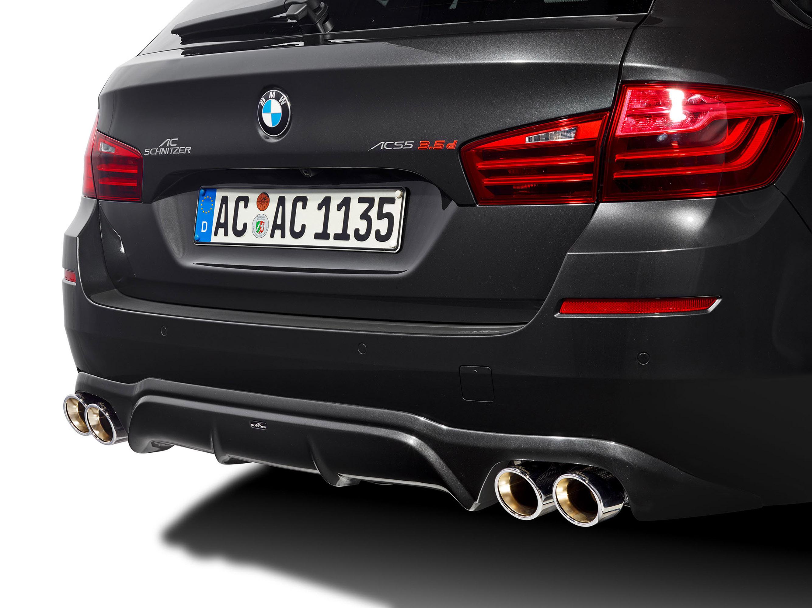АС Шнитцер BMW 5 серии туринг ЛКИ Эссене дебютирует на мотор-шоу  - фотография №17