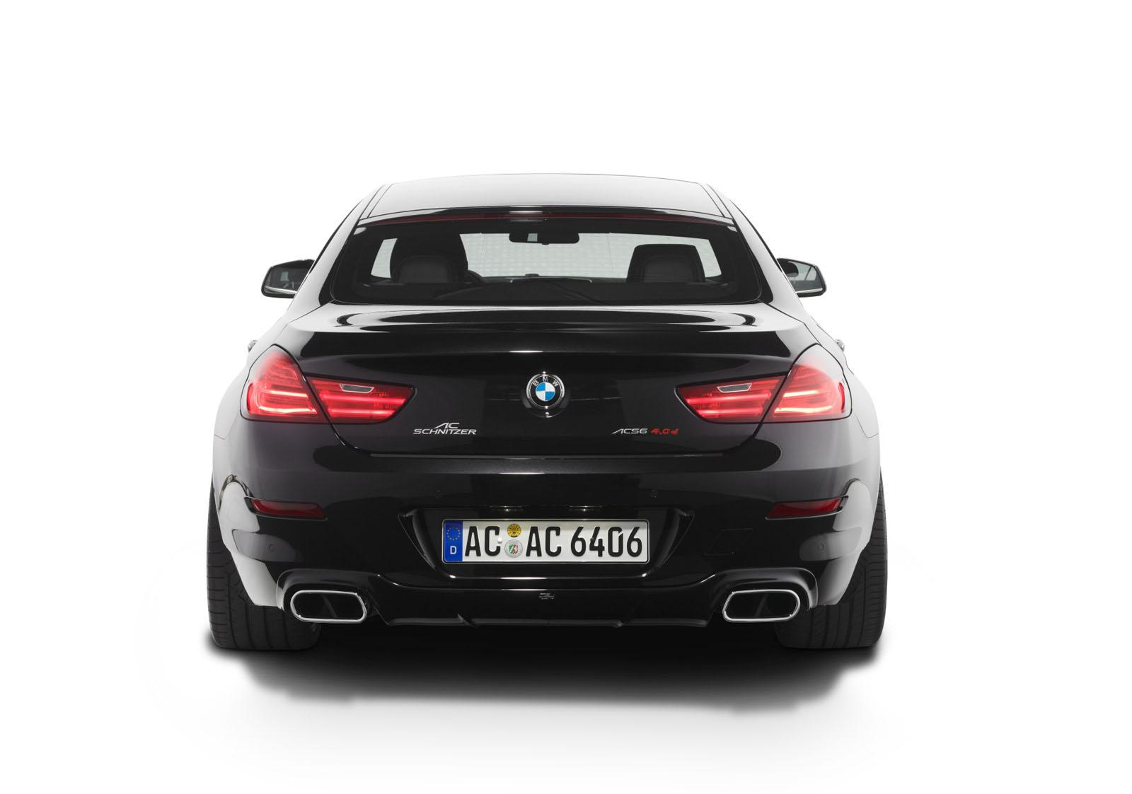 AC Schnitzer BMW 6й серии Grant Coupe - Тюнинг для совершенства - фотография №2