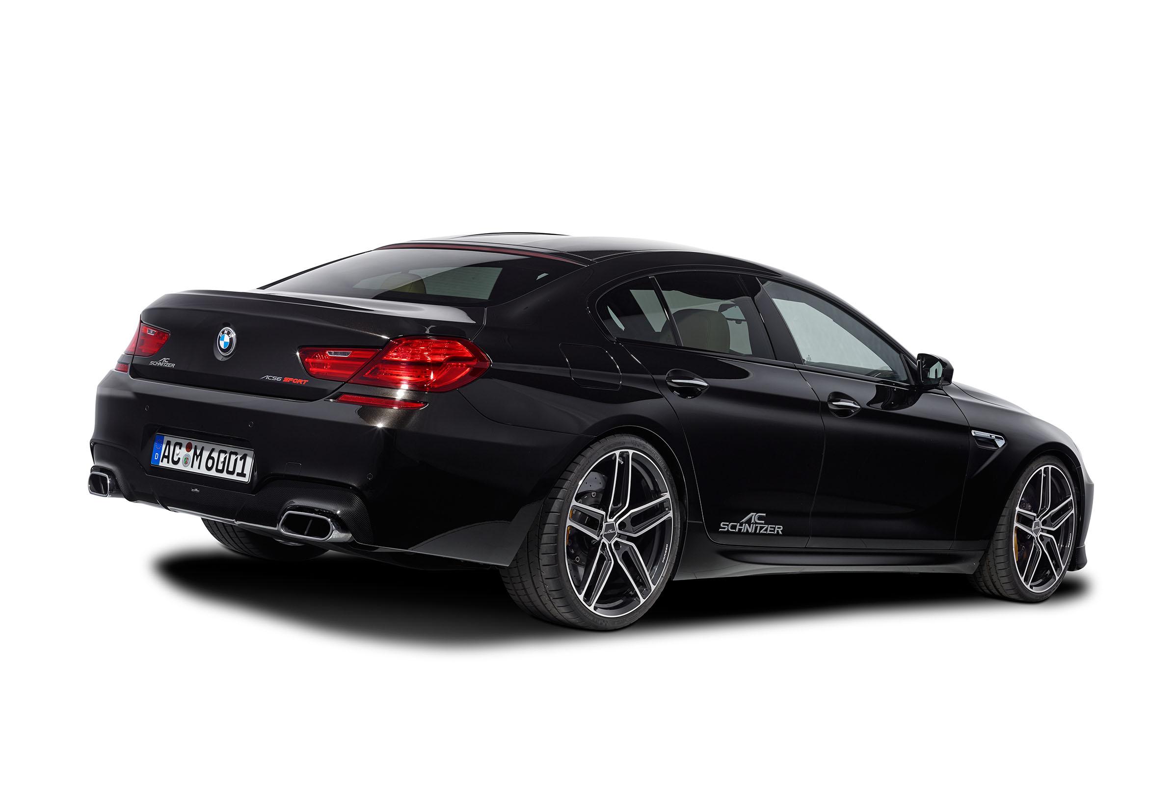 AC Schnitzer взялась за BMW M6 купе, кабриолет и Gran Coupe - фотография №16