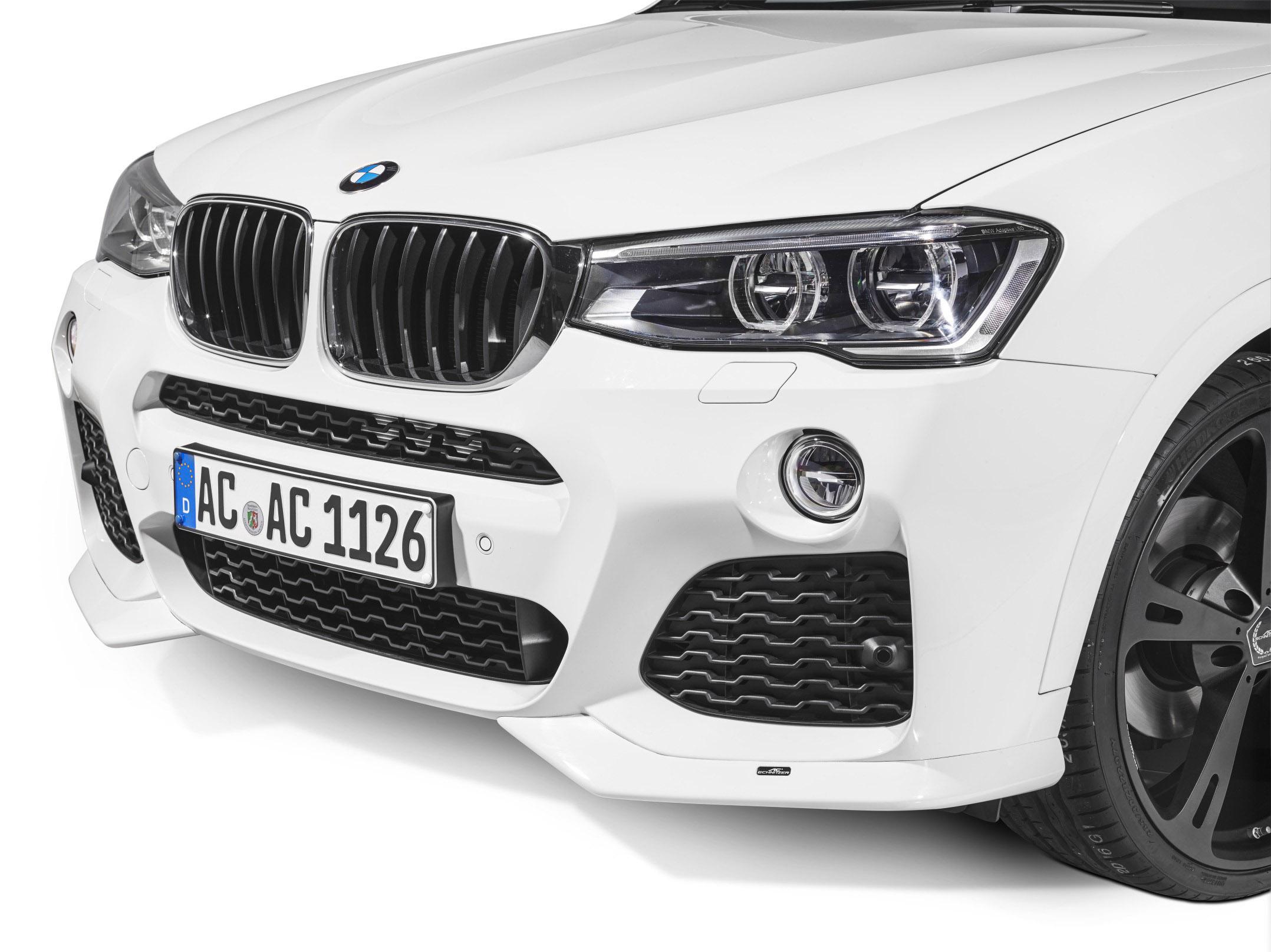 АС Шнитцер представлена на BMW х4 в невероятно спортивная версия - фотография №2