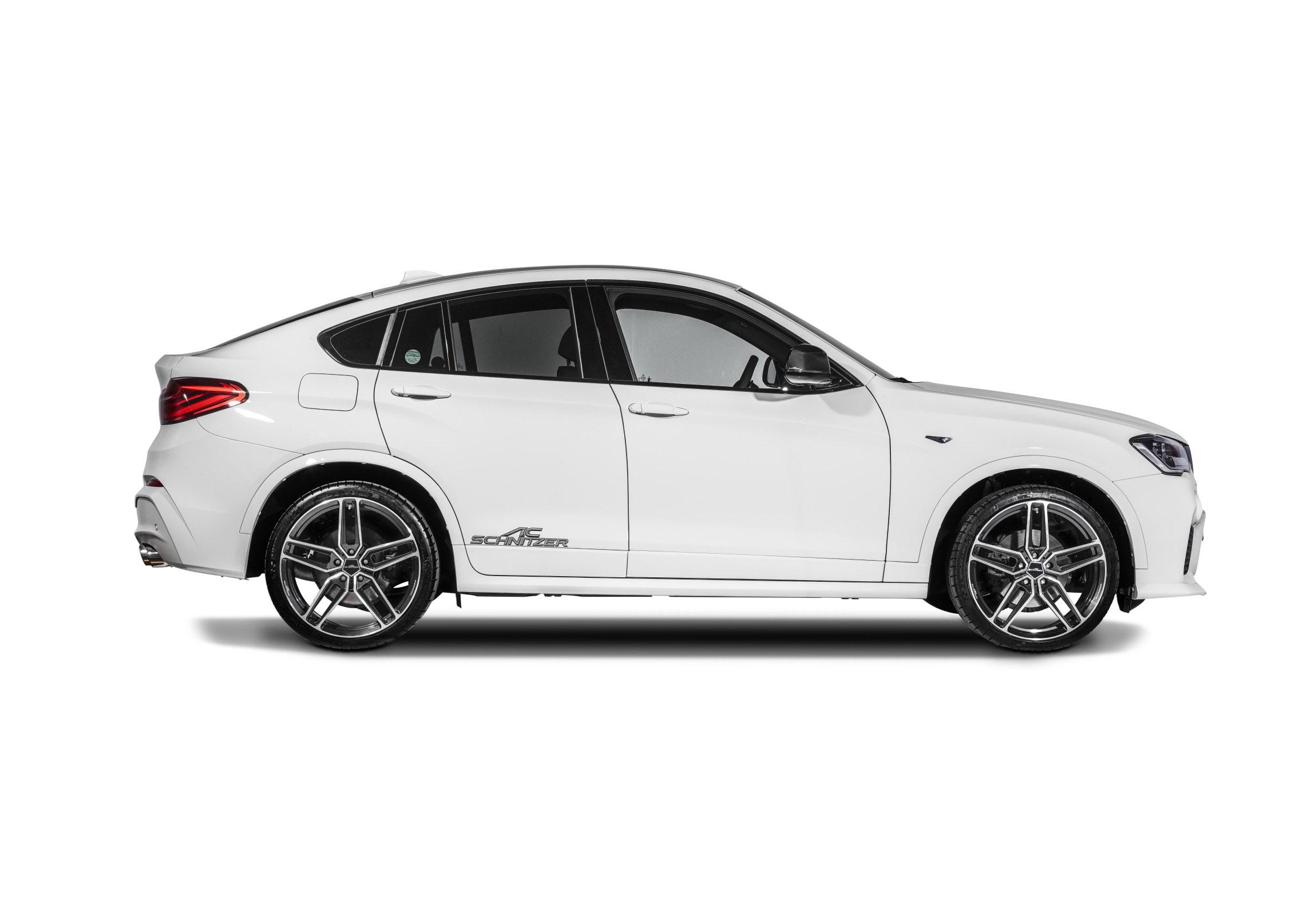 АС Шнитцер представлена на BMW х4 в невероятно спортивная версия - фотография №7