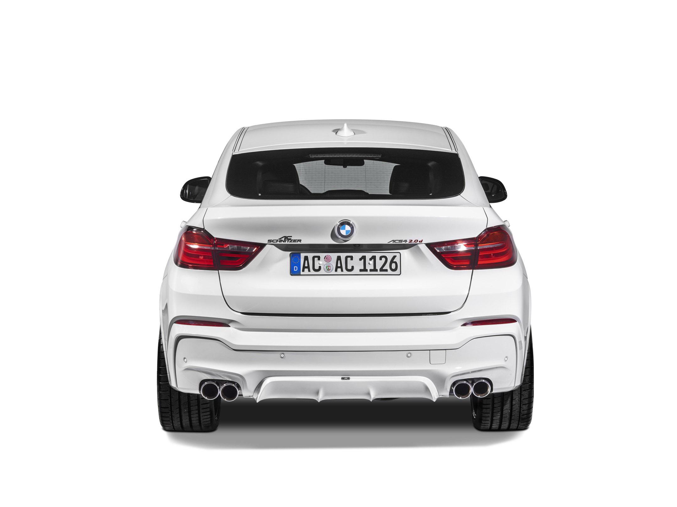 АС Шнитцер представлена на BMW х4 в невероятно спортивная версия - фотография №9