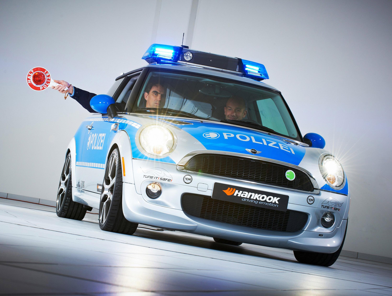 AC Schnitzer MINI E полиции - фотография №1