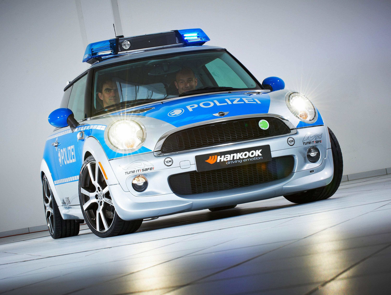 AC Schnitzer MINI E полиции - фотография №3