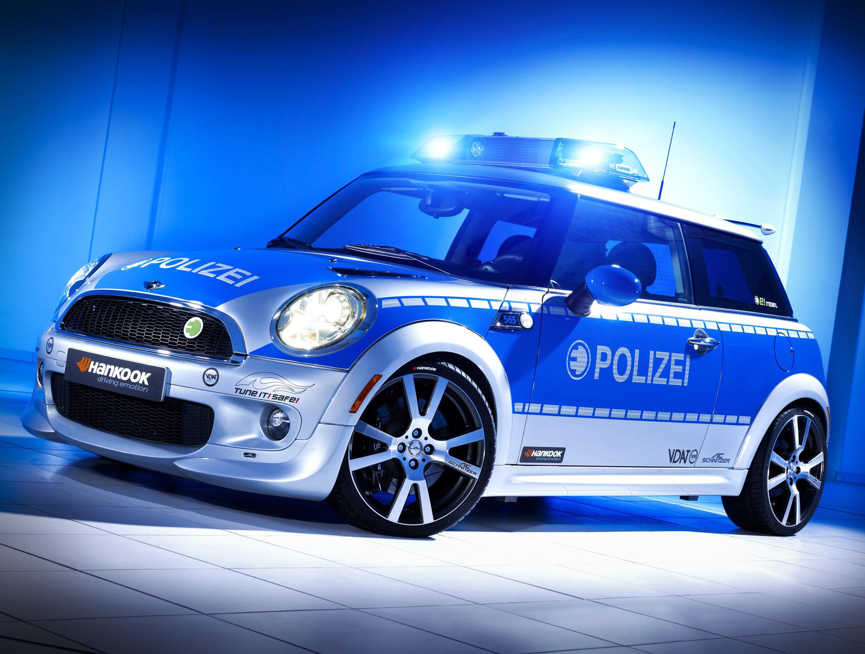 AC Schnitzer MINI E полиции - фотография №4