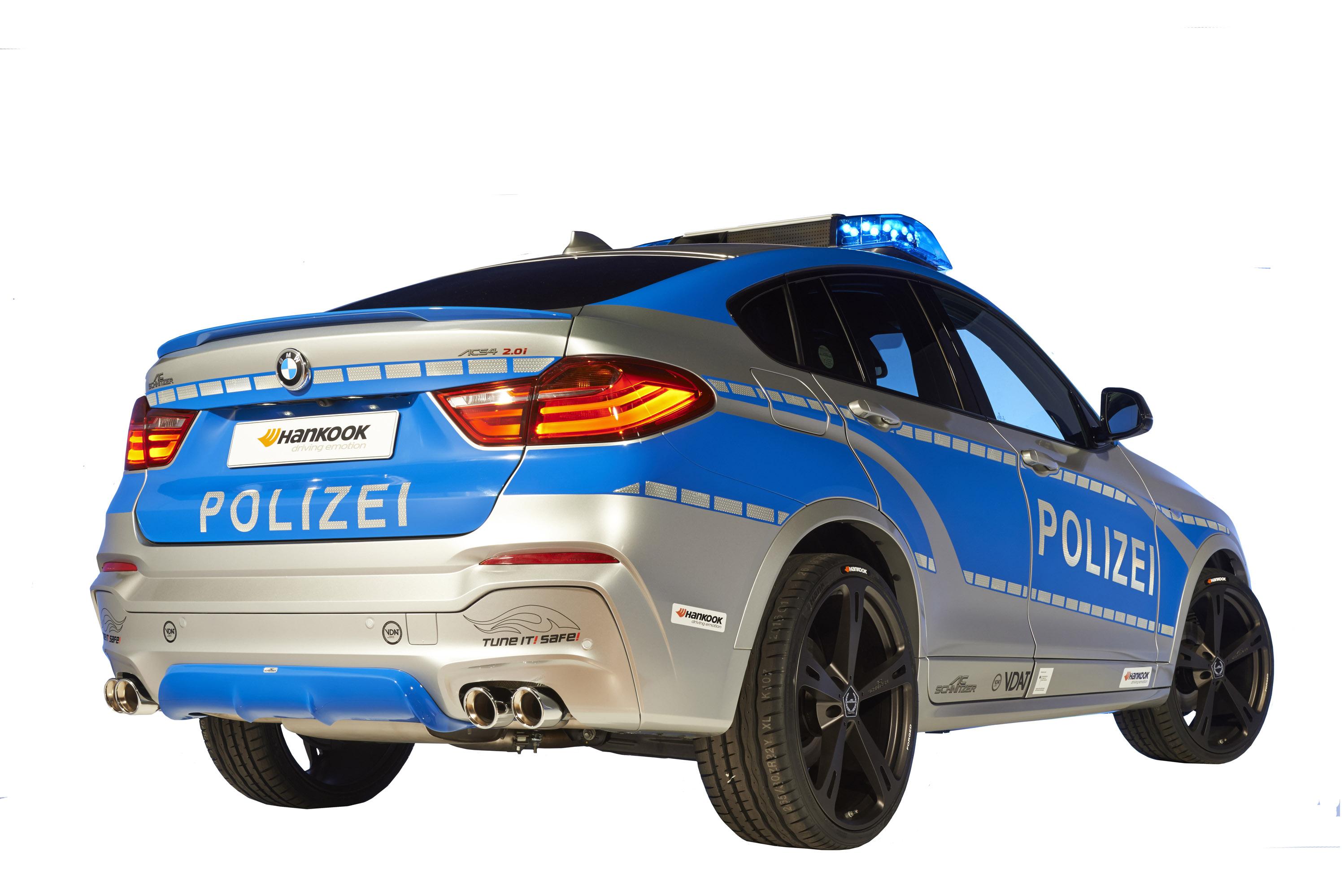 АС Schnitzer настоящий полицейский БМВ - фотография №9