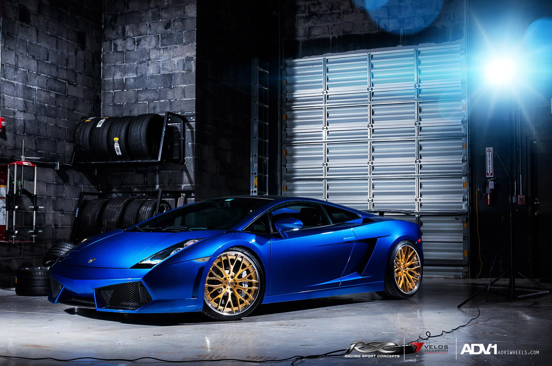 ADV.1 колеса Lamborghini Gallardo ADV10.0TS SL Gold Edition  - фотография №2