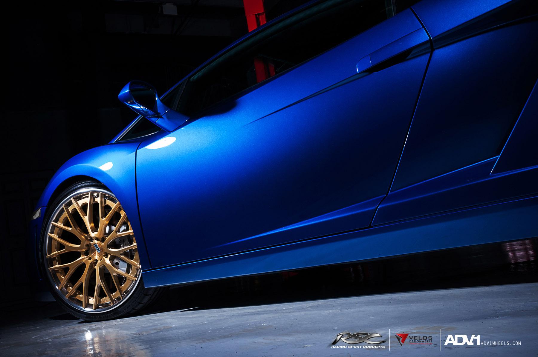 ADV.1 колеса Lamborghini Gallardo ADV10.0TS SL Gold Edition  - фотография №9