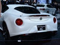 Alfa Romeo 4C New York 2014