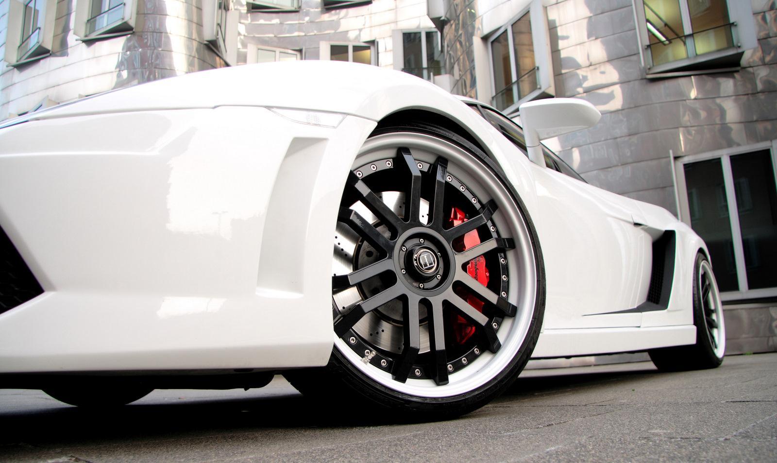 Lamborghini Gallardo White Edition - фотография №5
