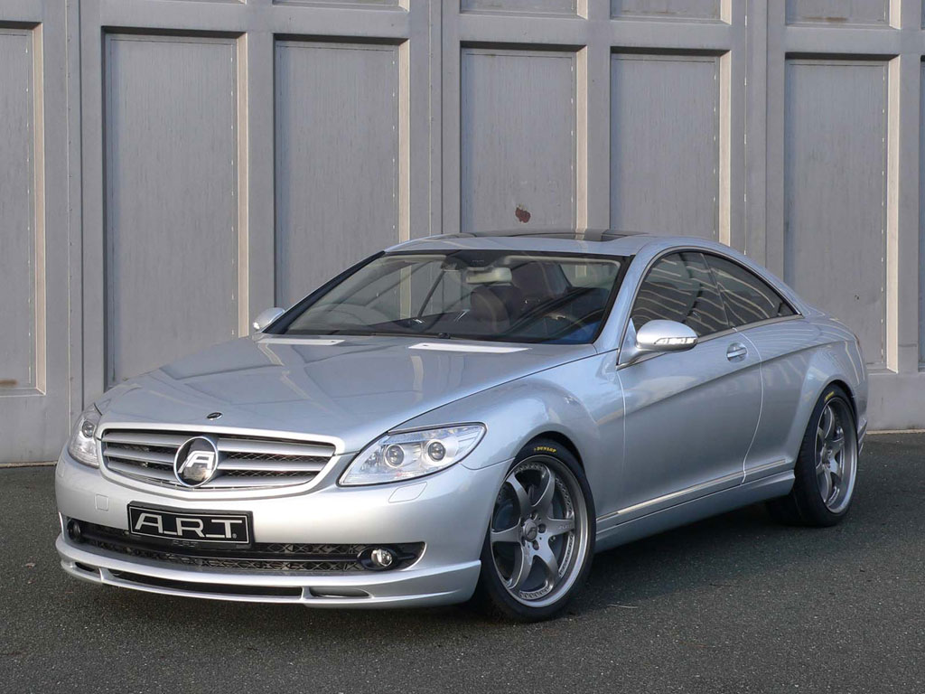 А. Р. Т. Mercedes-Benz CL - фотография №1