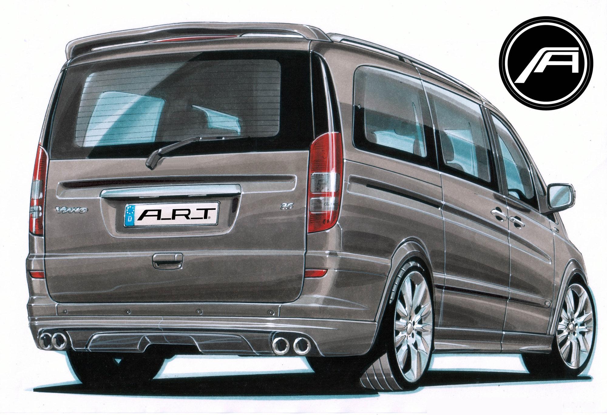 А. Р. Т тюнинг beutifies Mercedes-Benz Viano - фотография №2