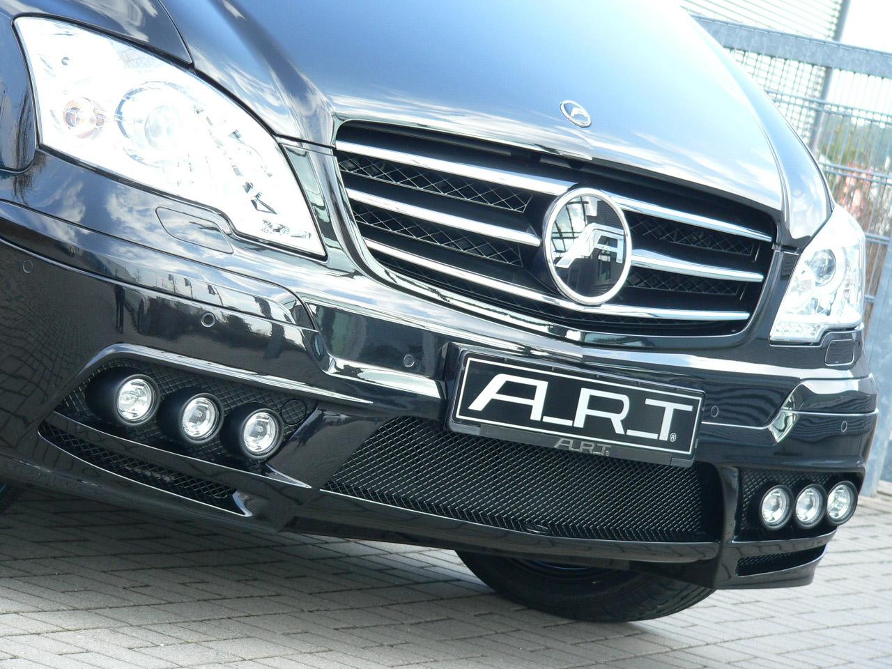 А. Р. Т тюнинг beutifies Mercedes-Benz Viano - фотография №5