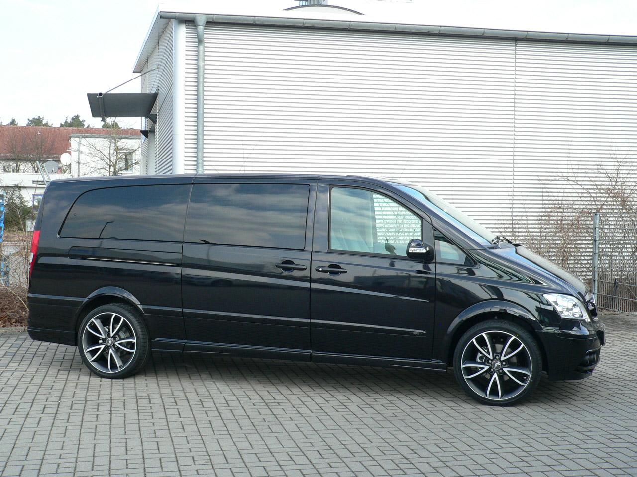 А. Р. Т тюнинг beutifies Mercedes-Benz Viano - фотография №7