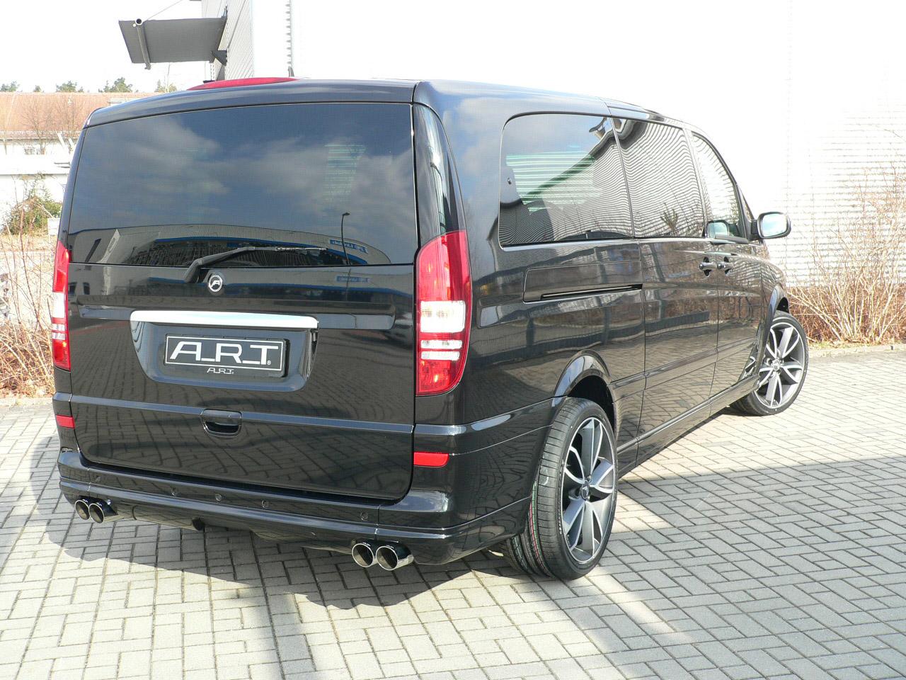 А. Р. Т тюнинг beutifies Mercedes-Benz Viano - фотография №8