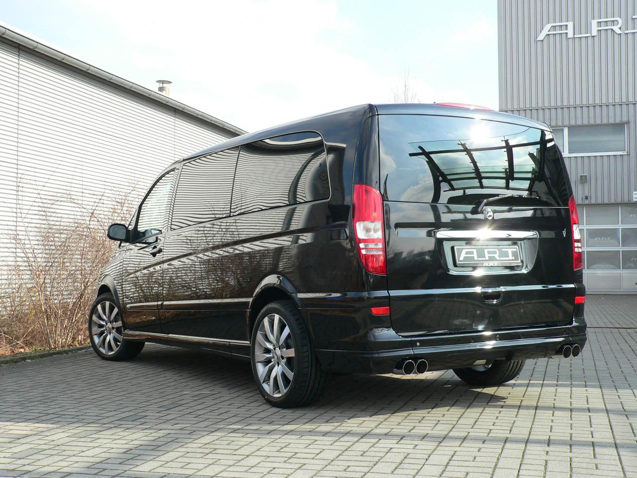 А. Р. Т тюнинг beutifies Mercedes-Benz Viano - фотография №9