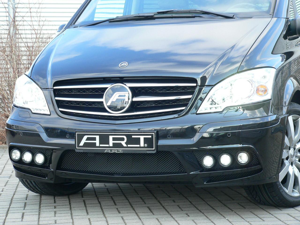 А. Р. Т тюнинг beutifies Mercedes-Benz Viano - фотография №10