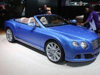 Bentley Continental GT Speed Convertible Detroit 2013