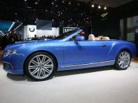 Bentley Continental GT Speed Convertible Detroit 2013