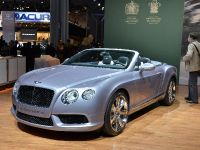 Bentley Continental GTC V8 New York 2012