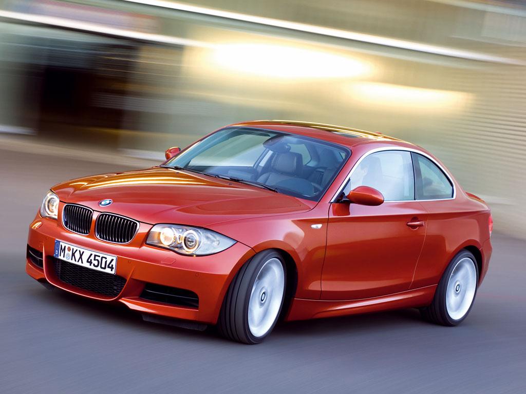 BMW 1 серии купе - фотография №1
