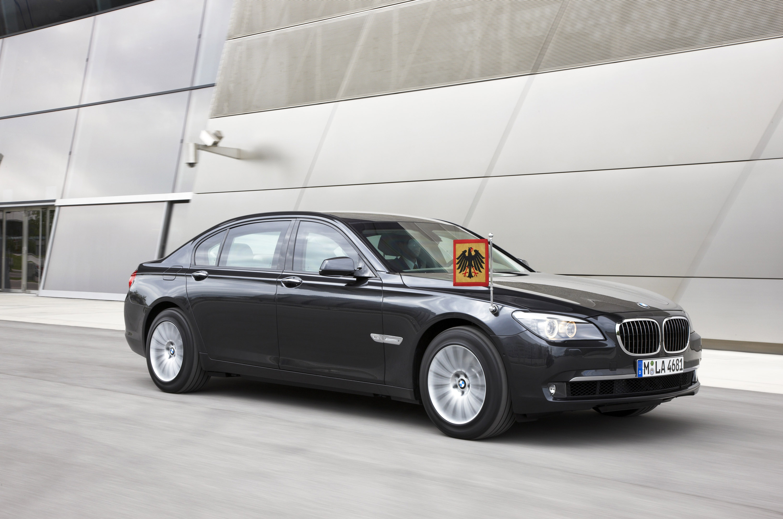 Новый BMW 7 серии High Security - фотография №8