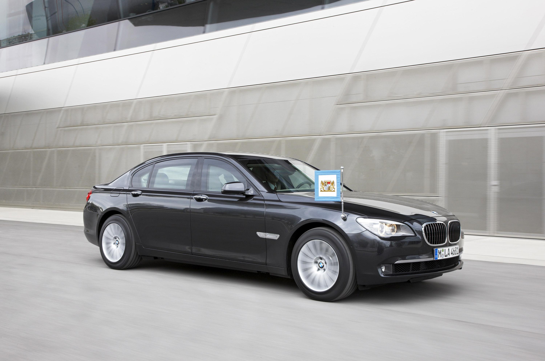 Новый BMW 7 серии High Security - фотография №9