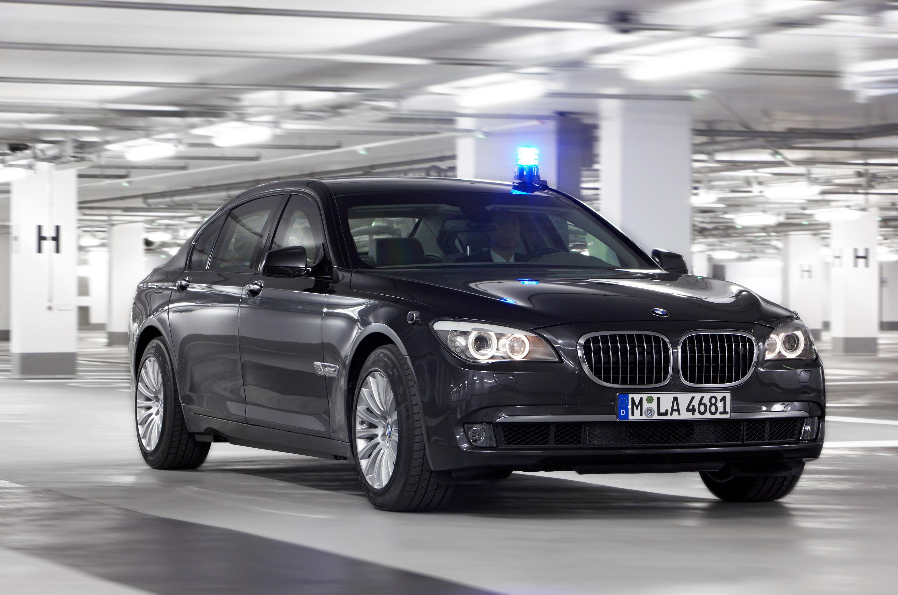 Новый BMW 7 серии High Security - фотография №17