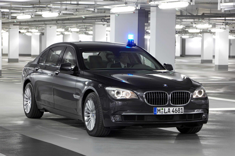 Новый BMW 7 серии High Security - фотография №18