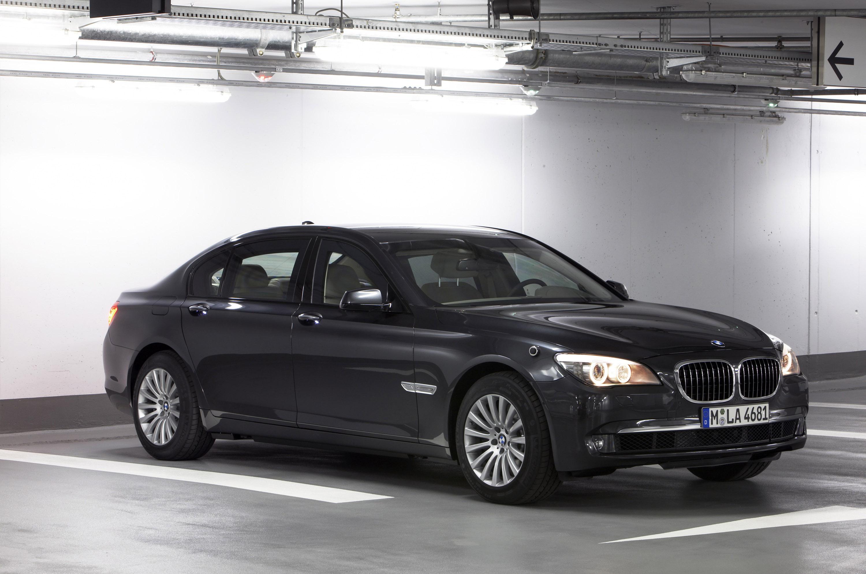 Новый BMW 7 серии High Security - фотография №28