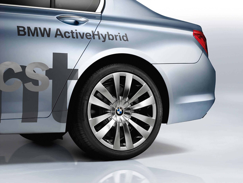 BMW Concept 7 серии ActiveHybrid - фотография №4
