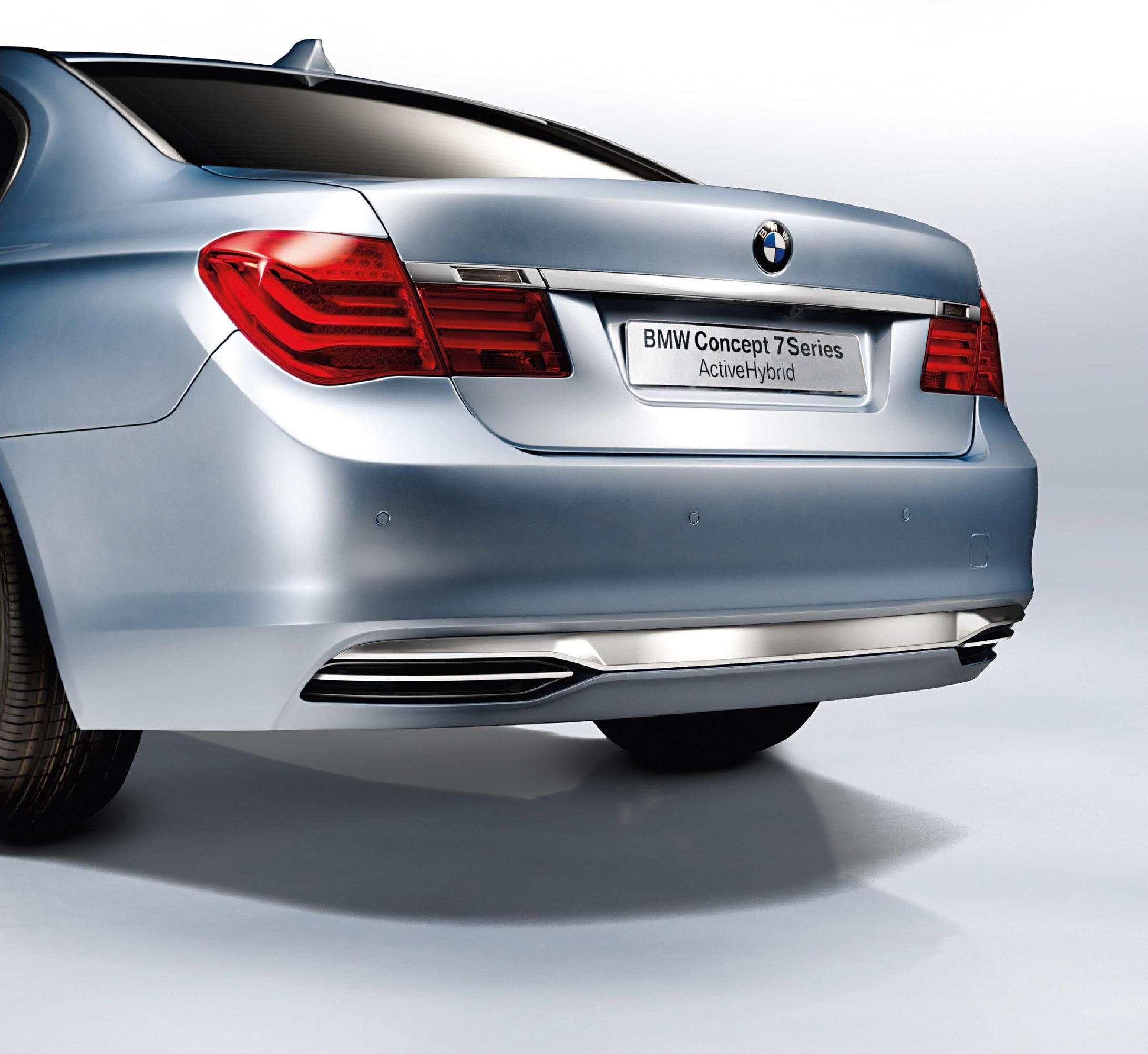 BMW Concept 7 серии ActiveHybrid - фотография №6