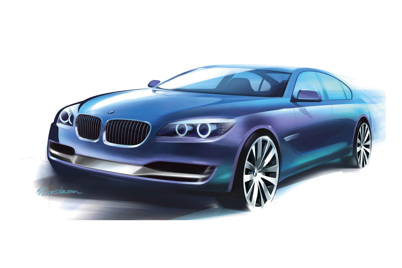 BMW Concept 7 серии ActiveHybrid - фотография №12