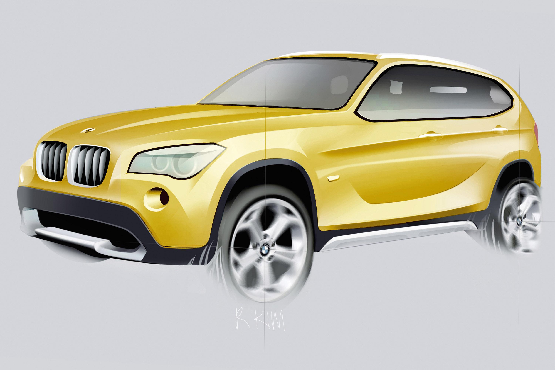 Концепция BMW X1: первый Sports Activity Vehicle в премиальном компактном сегменте - фотография №1