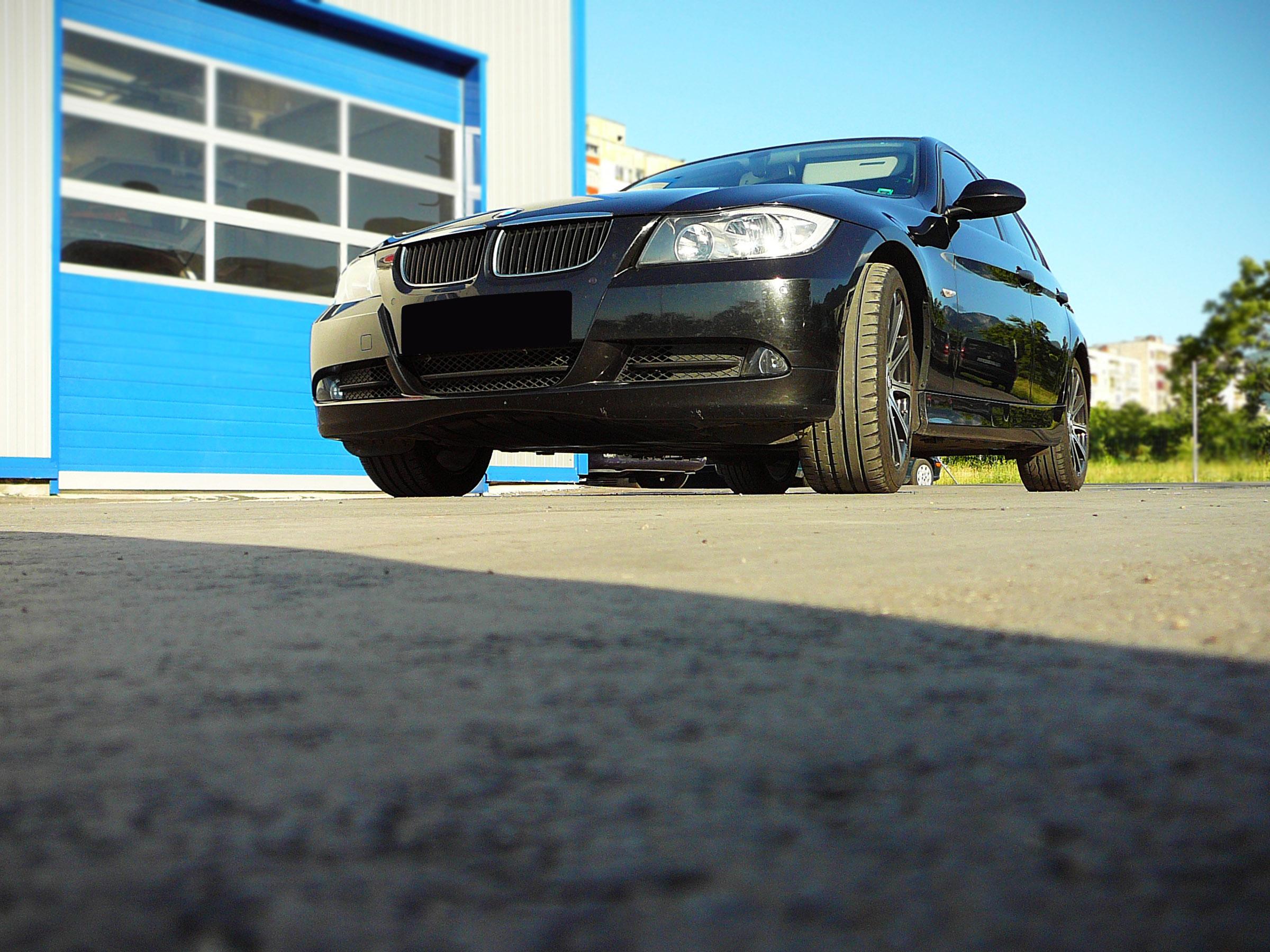 BMW E90 320d - Тест-драйв - фотография №1