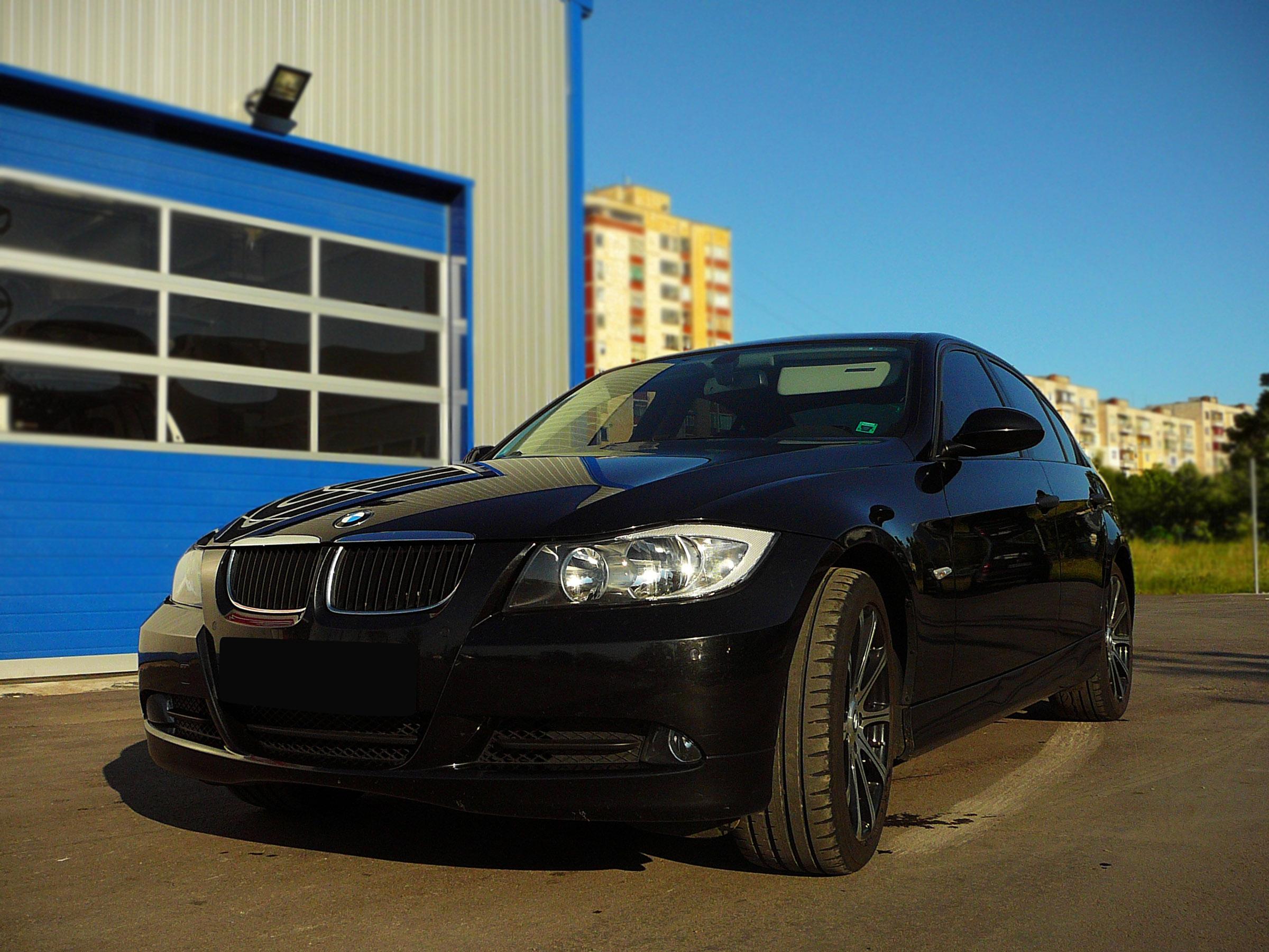 BMW E90 320d - Тест-драйв - фотография №2