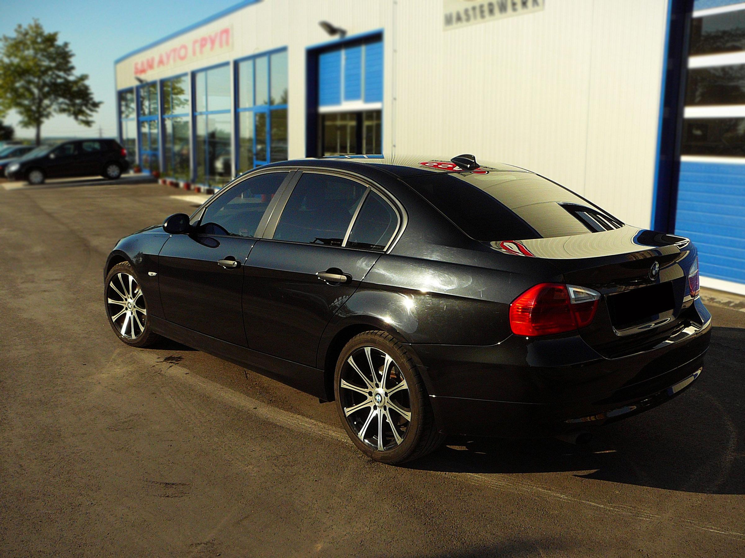 BMW E90 320d - Тест-драйв - фотография №5