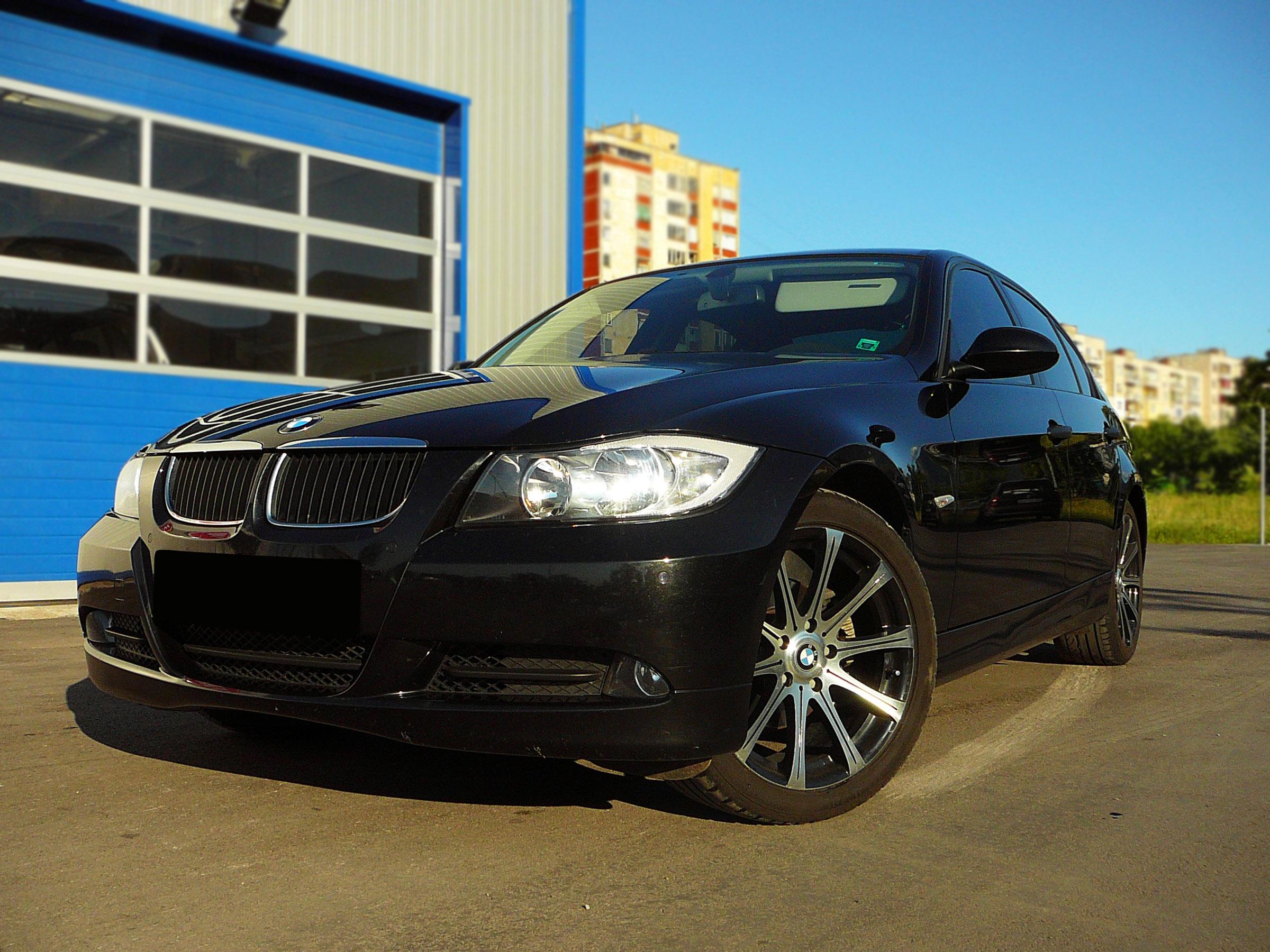 BMW E90 320d - Тест-драйв - фотография №8