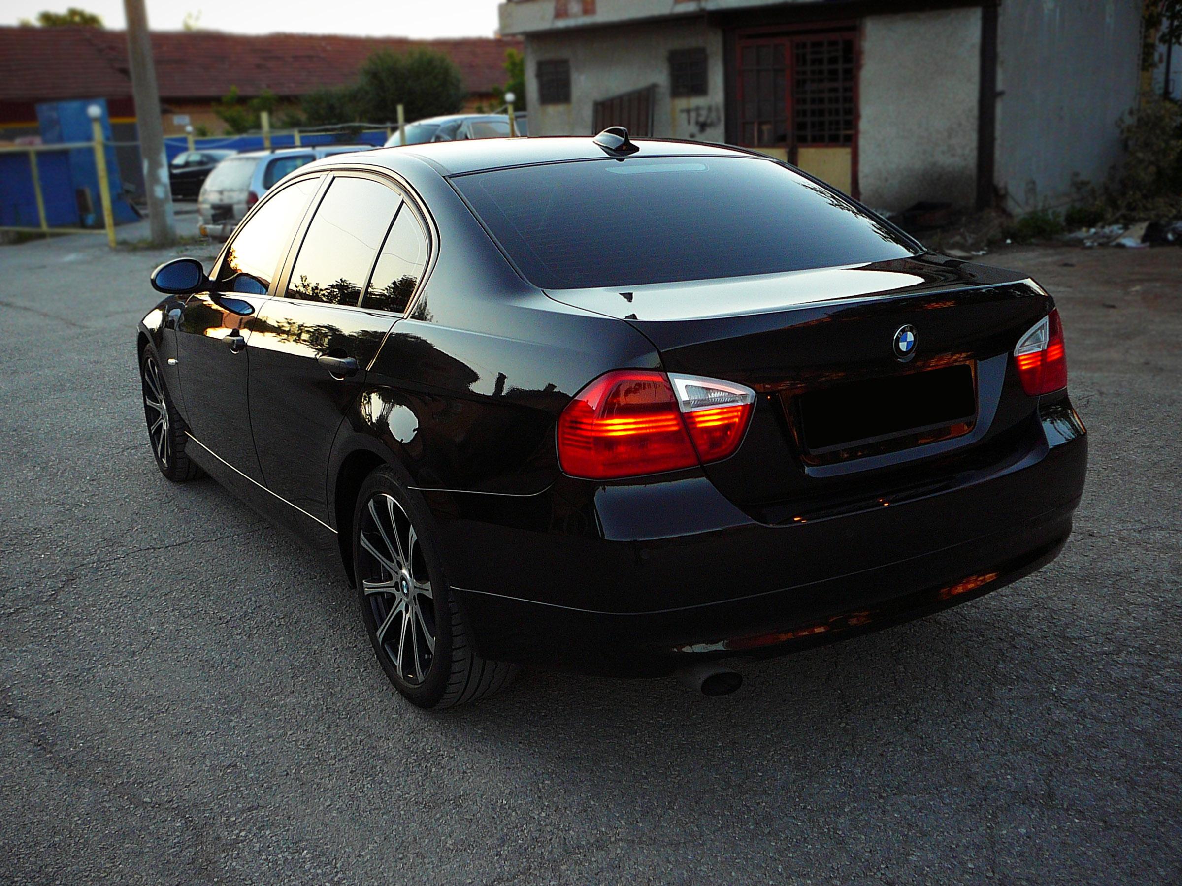 BMW E90 320d - Тест-драйв - фотография №10