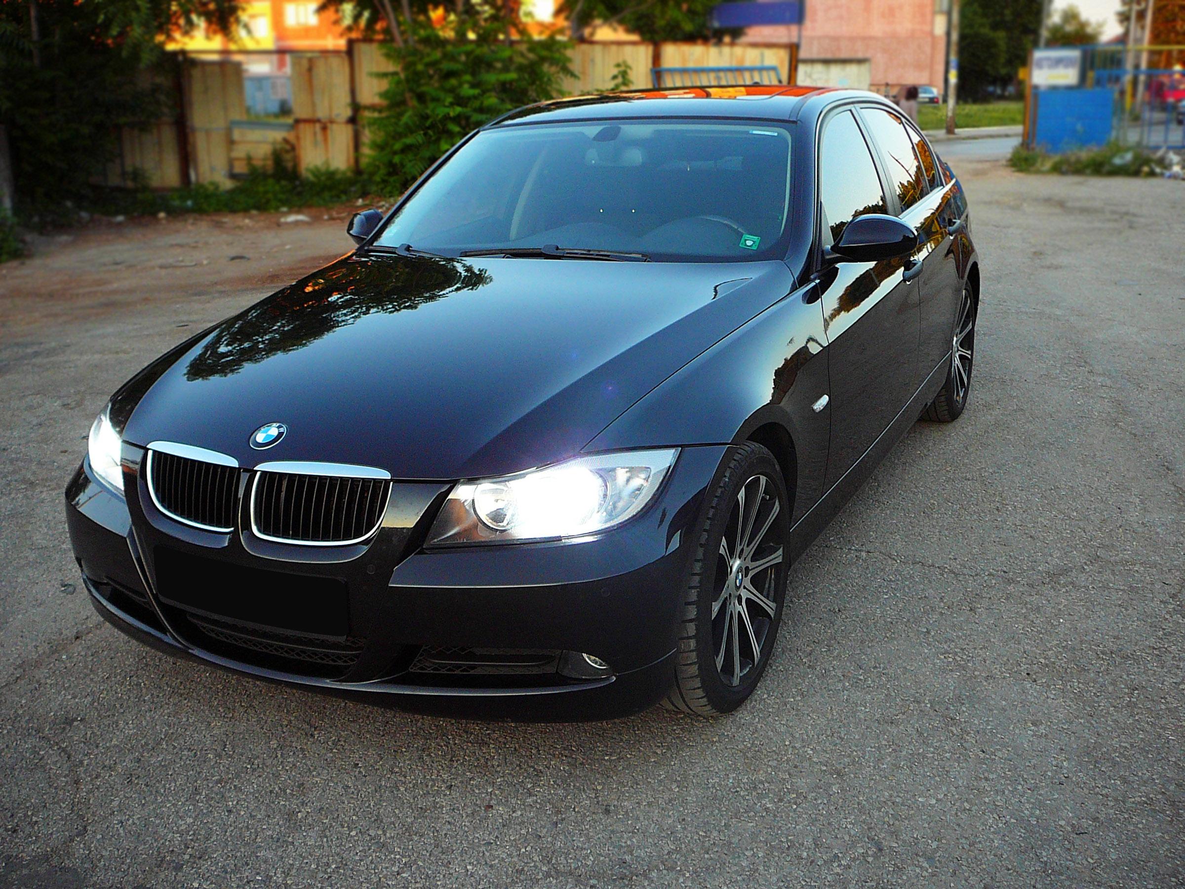 BMW E90 320d - Тест-драйв - фотография №12